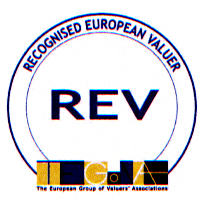 Recognized European Valuer. TEGoVA, The European Group of Valuers Associations and b.v.s., Bundesverband öffentlich bestellter und vereidigter sowie qualifizierter Sachverständiger certified that Rolf Schubert has met all the requirements stipulated in the Recognition Document, is admitted to use this title